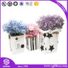Лидирующий рециркулированная таможней кожаный упаковывая коробка цветка