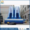 glissière gonflable de la double voie 0.55mmpvc, glissière gonflable de gosses à vendre