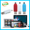 Micro USB Tfsd OTG Card Reader para Android Phone