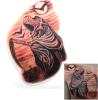 etiqueta engomada temporal impermeable del tatuaje del cuervo de la muerte de la manera 3D