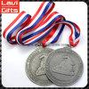 Медаль спорта логоса новой конструкции изготовленный на заказ с тесемкой