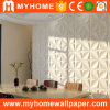 Панель стены 3D нутряной стены Paintable толщины PVC 1mm водоустойчивая декоративная для живущий комнаты