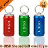 O PNF colorido plástico pode a vara instantânea do USB do presente (YT-1132)