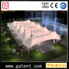 Q235 Deckel-Badminton-Farbton-Zelt des Stahlrahmen-PVDF