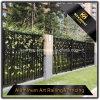 Cerca de aluminio revestida del chalet del polvo decorativo del jardín para la seguridad