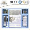 Окно Casement хорошего качества подгонянное изготовлением алюминиевое