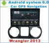 Android DVD-плеер автомобиля системы 6.0 на Wrangler 2013 с Navigation&GPS