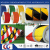Non Reflective Adhesive Yellow Black Floor Marking Tape (C1300-O)