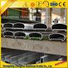 Cerca protectora de aluminio de abastecimiento de la pista revestida del polvo de la fábrica de aluminio