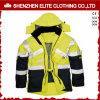 Куртка работы высокой видимости водоустойчивая отражательная для людей (ELTSJI-1)