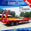 Plataforma dobro Semi Trailer de Axis Drop com Tri-Angle Widening Support