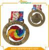 Médaille différente de placage personnalisée par vente en gros