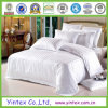 Algodón 100% Hotel Bed Sheets en White Check Design