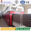 Horno de túnel automático lleno de la alta capacidad para los ladrillos de la arcilla
