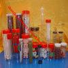 China modificó el empaquetado plástico claro del tubo para requisitos particulares