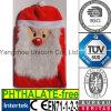 산타클로스 크리스마스 선물 견면 벨벳 장난감 더운물병 덮개