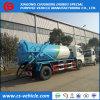 糞便Dongfeng 4X2 6m3 8m3の真空か下水の吸引のトラック