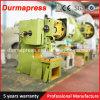Máquina del sacador de la prensa hidráulica de la prensa de potencia J23-100 para el compañero de la hoja