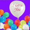 膨脹可能な真珠色愛気球