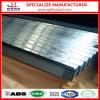 Telha de telhadura galvanizada corrugada material de construção
