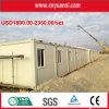 20ft Prefabricate Container Huis voor Plaats Office in de Soedan