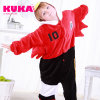 Kuka embroma el pijama del traje de Onesies Cosplay del águila de la historieta