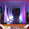 Acontecimiento que flota la iluminación inflable inflable del LED que hace publicidad de la columna del tornillo con las luces del LED