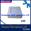 2/3 Years Warranty를 가진 Yaye Hot Sell Surface Mounted 6W Square LED Panel Light