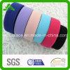 Kundenspezifische feste gefärbte Farben-Ebene, die gestricktes elastisches Farbband spinnt