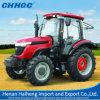 Trattore agricolo agricolo del macchinario 80HP 4WD Diesl con la baracca