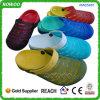 Il doppio commercio all'ingrosso di EVA di colore blocca i sandali di plastica (RW25487G)