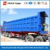 3 차축 50ton Dump Semi Trailer Tipper Truck Trailer