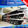 Aotong Brand Tri Axles 40 ' Flatbed Trailer mit Twist Locks
