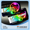 Carte Glittery de plastique de carte de la carte VIP