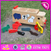 Kids、Children、Puzzle Wj276157のBest Seller Mini Wooden Car ToyのためのLovely Cute Wooden Toy Pullのための2015新しいWooden Push Toy