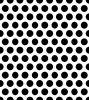 maglia perforata del metallo galvanizzata foro di 4mm