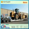 120-150tons de zware Aanhangwagen van de Vrachtwagen van Lowboy van het Vervoer van de Apparatuur Semi (LAT9404TDP)