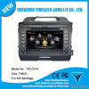 2 estruendo Car DVD con S100 para KIA New Sportage con el GPS, Phonebook, DVR, Pop, File Copy, 20 Dics Momery, BT, WiFi (TID-C074)