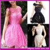 Шнурка 2015 платье коктеила диаманта модного повелительниц вышивки сладостное (D002696)