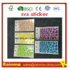 O adesivo rotula a etiqueta da parede da espuma de EVA e a etiqueta feita sob encomenda de EVA