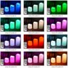 18-Key remoto Control de color cambiante LED Velas