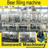 Línea automática de /Filling del llenador de la cerveza de la botella de cristal