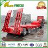 3 차축 60 톤 Lowbed 트럭 트레일러