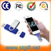 USB Flash Drive di Metal&Plastic Swivel Double Interface OTG per Android Smartphones