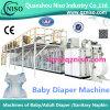 高速完全サーボ伸縮性がある耳の赤ん坊のおむつの機械工場(YNK500-SV)