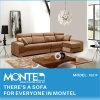 居間の角のソファー、現代ホーム家具のソファー