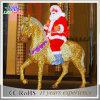 LED-Innen- und im Freien Decoractive 2D Weihnachtsmann Motiv-Licht