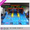 フレームのプール水スライド、販売のための膨脹可能な商業水スライド