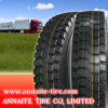 Neumático para camiones Annaite 11r24.5 con certificación DOT