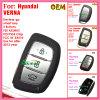 Auto chave esperta para a microplaqueta preta Fccid95440 2W500 das teclas 434MHz ID46 de Hyundai Santa Fe 3+1